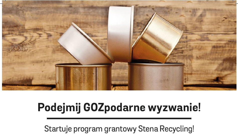 """""""GOZpodarne wyzwanie"""" ze Stena Recycling"""