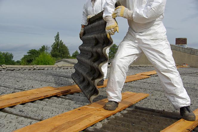 Usuwanie wyrobów zawierających azbest z terenu gminy Suwałki w 2021 roku