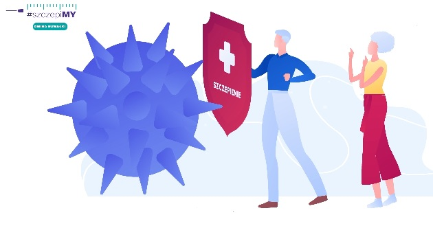 Akcja informacyjna promująca szczepienia przeciw COVID-19!